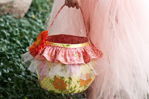 easter basket pdf pattern by BirdsongPatterns