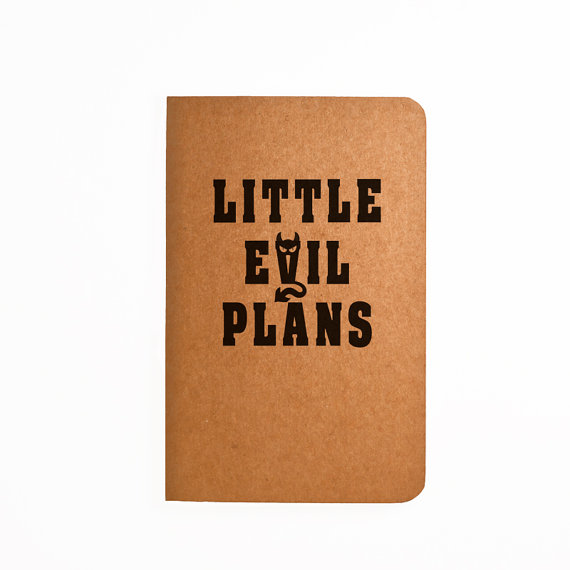novelty notebook by monedge on etsy