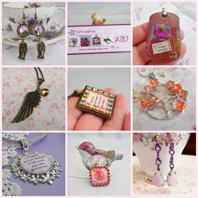 Starzyia etsy store Mother's Day